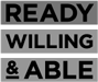 Ready willing & able logo